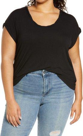 Twist Detail T-Shirt