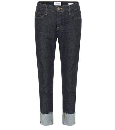 Frame - Le Garçon mid-rise cropped jeans | Mytheresa
