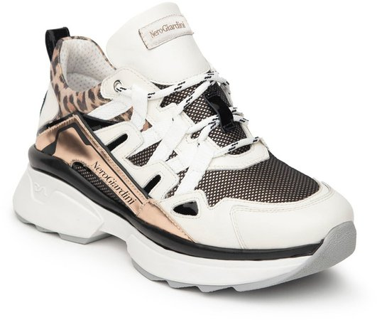 Chunky Lace-Up Sneaker