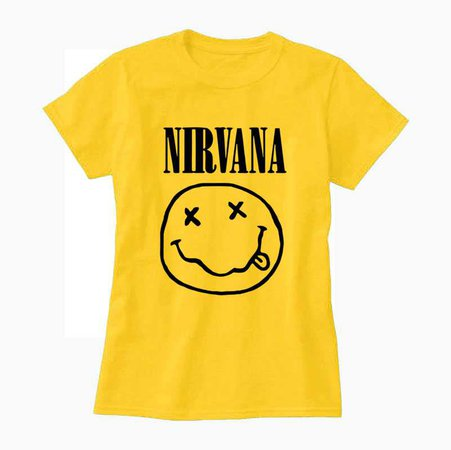 Nirvana T-Shirt (Yellow)