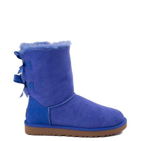 Womens UGG® Mini Bailey Bow II Boot - Violet Bloom | Journeys