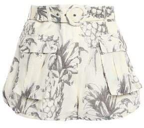 Wayfarer Printed Linen Shorts