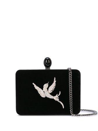 1 Oscar De La Renta Rogan Embellished Bird Clutch Ss20   Farfetch.Com