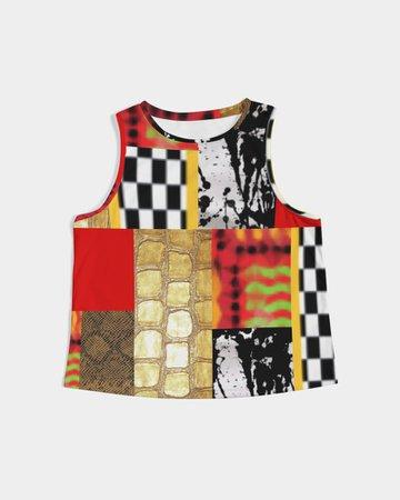Manic Block Shell Tank - Yonni Designs - MW House of Style