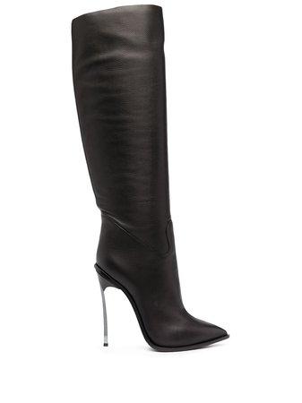 Casadei Maxi Blade knee-high Boots - Farfetch