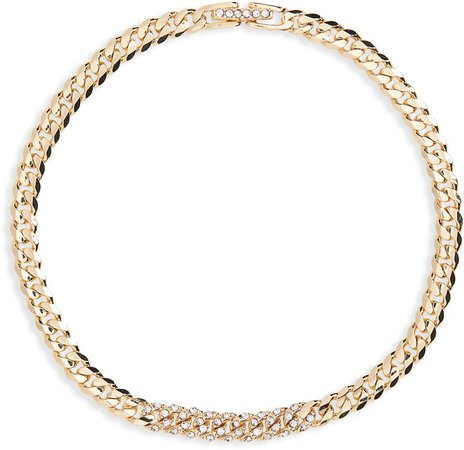 Pave Curb Chain Bracelet
