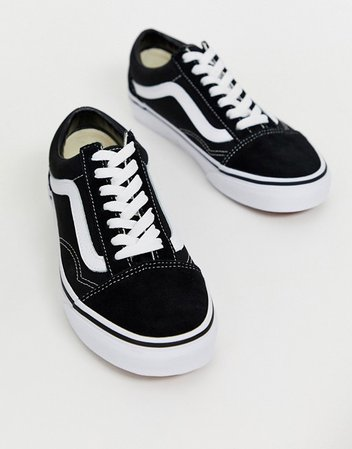 Vans Classic Old Skool black sneakers | ASOS
