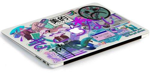 Vaporwave Macbook air