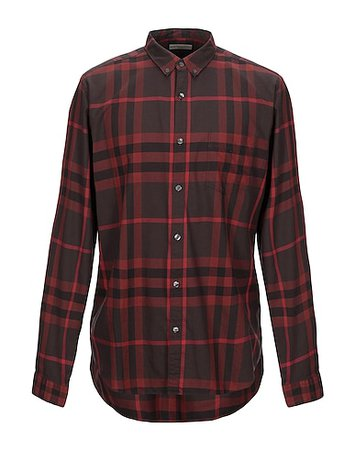 Burberry Checked Shirt - Men Burberry Checked Shirts online on YOOX United States - 38879051VS