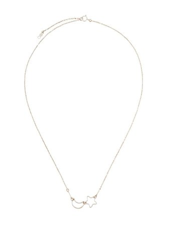 Petite Grand Moon & Star Chain Necklace - Farfetch
