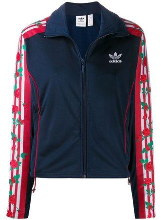 Adidas Jaqueta Com Estampa De Rosas - Farfetch