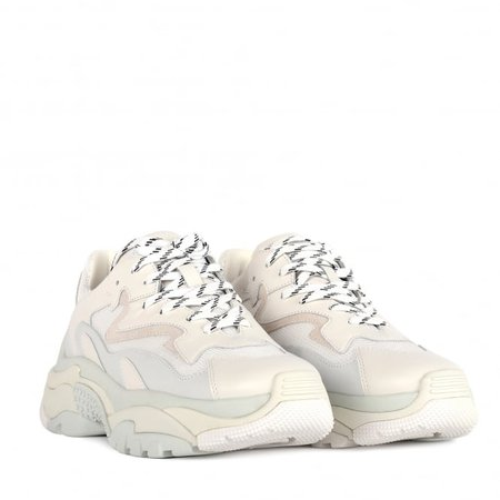 Addict | Shop Womens Off-White Leather Sneakers | Ash UK Official Site