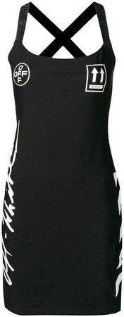 Off-White diag printed dress