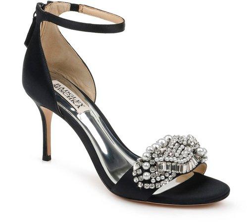 Odalis Embellished Ankle Strap Sandal