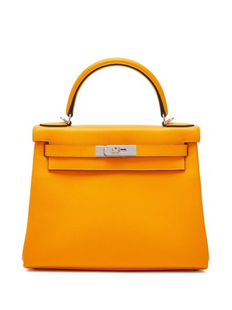 Hermès Pre-Owned Kelly 28 Handväska - Farfetch