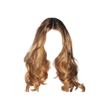 doll hair png blonde auburn