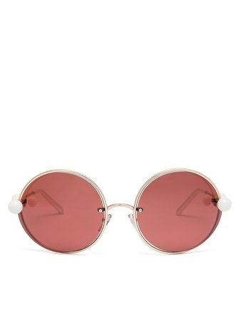 ‎MARNI STARLIGHT Sunglasses In Metal ‎ | Marni