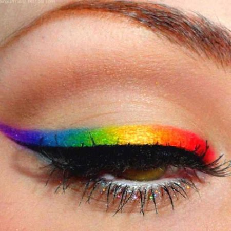 Pride eyeshadow