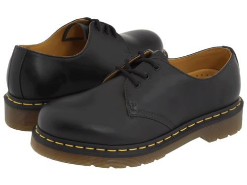 Men's Shoes Dr. Martens 1461 3 Eye Leather Oxfords 11838002 Black Smooth *New* 883985393585 | eBay