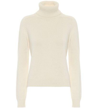 Saint Laurent - Cashmere turtleneck sweater | Mytheresa