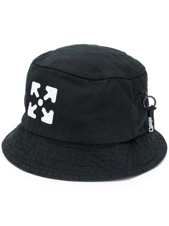 Off-White Arrows Logo Bucket Hat - Farfetch