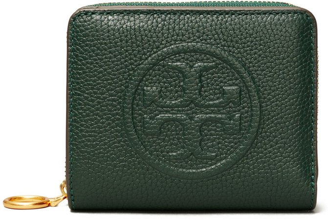 Perry Embossed Leather Bifold Wallet