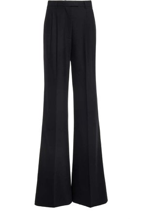Redemption Pleated Wool Wide-Leg Trousers
