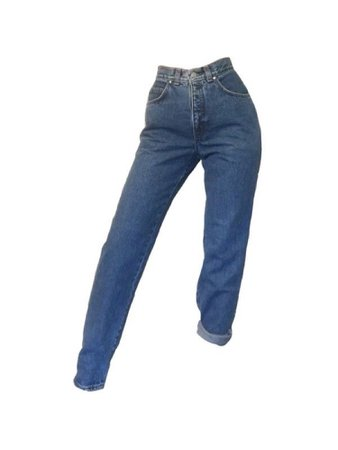 high waisted denim mom jeans