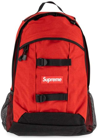 Supreme Logo Patch Backpack
