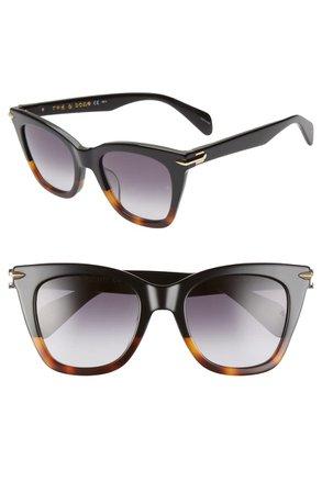 rag & bone 52mm Sunglasses | Nordstrom
