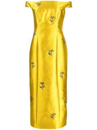 Erdem, embellished long dress