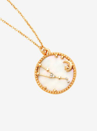 Taurus Constellation Coin Necklace - BoxLunch Exclusive