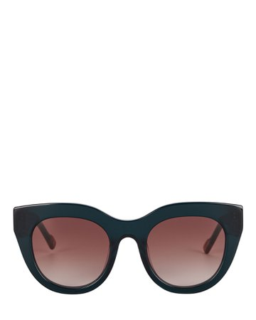 Le Specs Luxe Airy Canary Cat Eye Sunglasses | INTERMIX®
