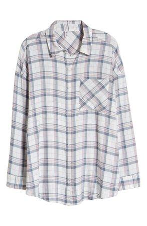 BP. Plaid Flannel Shirt | Nordstrom