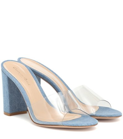 Exclusive to Mytheresa – Vivienne 85 denim sandals