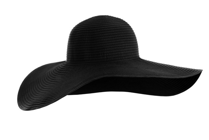 Black Strong Sun Hat
