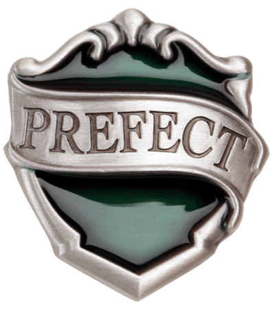 Slytherin Prefect Pin Badge | Harry Potter Badges | Harry Potter Shop
