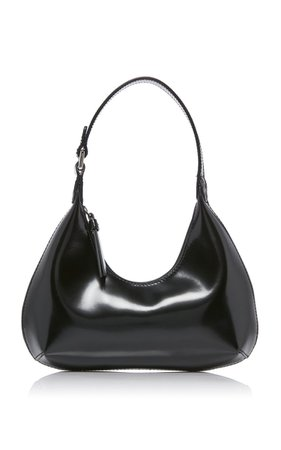 Baby Amber Patent Leather Shoulder Bag By By Far   Moda Operandi