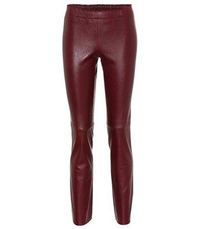 Jacky leather leggings