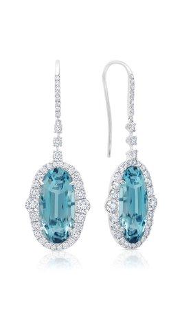 Martin Katz Aquamarine Drop Earrings