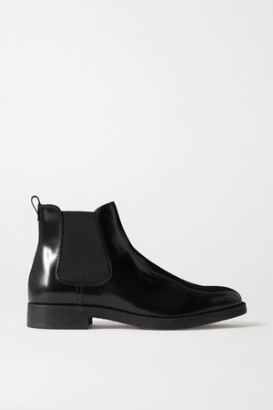 Black Patent-leather Chelsea boots   Tod's   NET-A-PORTER
