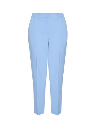 Light Blue Ankle Grazer Trousers | Dorothy Perkins