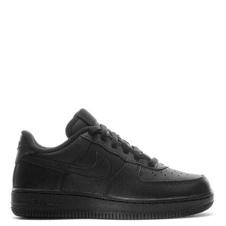 Air Force 1 Low - Boys Kids in Black/Black/Black by Nike | WSS