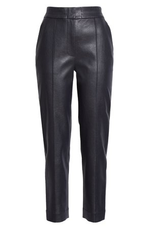 Rebecca Taylor Faux Leather Pants   Nordstrom