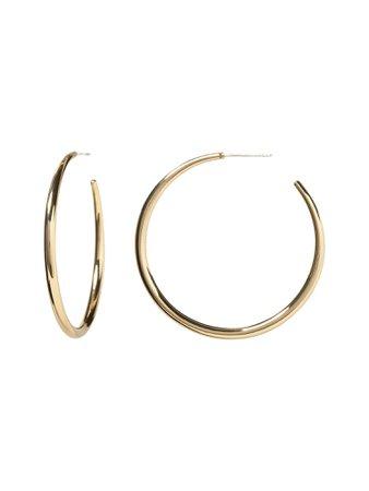 Everyday Hoop Earrings with 10K Gold   Banana Republic