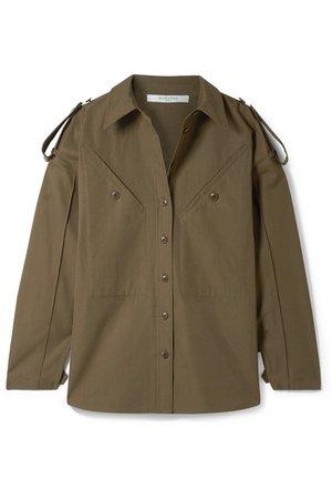 Givenchy | Chemise oversize en toile de coton | NET-A-PORTER.COM