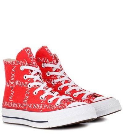 x Converse Chuck 70 logo-print sneakers