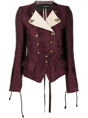 Ann Demeulemeester Nadav Double Breasted Jacket - Farfetch