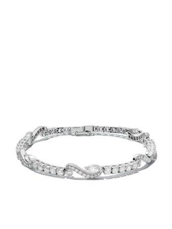 De Beers 18Kt White Gold Adonis Rose Diamond Bracelet Continuity | Farfetch.com