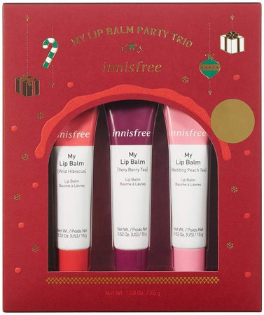 Innisfree innisfree - My Lip Balm Party Trio